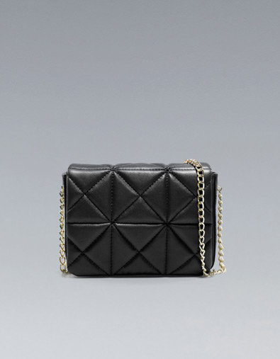 Zara Quilted Shoulder Bag 76