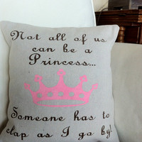 Princess Pillow-  12x12