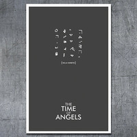 Doctor Who Poster: The Time of Angels by ModernStylographer