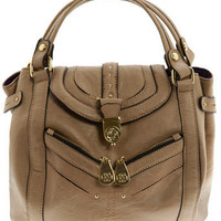 Caramel zip bowler bag - Handbags &amp; Purses - Accessories - Dorothy Perkins