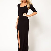 Love Maxi Dress with Side Split at asos.com