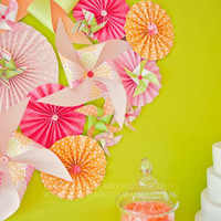 The Party Wagon - Blog - PIN WHEELS AND POLKA DOTS PARTY