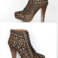 Pandora Lace Heel
