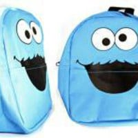 ROCKWORLDEAST - Sesame Street, Mini Backpack, Cookie Monster