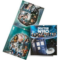 Doctor Who 2013 50th Anniversary Calendar