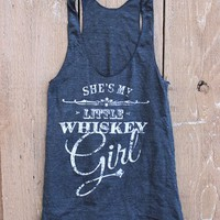 Whiskey Girl Racer Back Tank Top