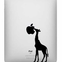 Ipad decal  Giraffe  UK WAB Team by edithandelizabeth on Etsy
