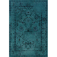 Teal/ Grey Area Rug (7&#x27;10 x 10&#x27;10) | Overstock.com