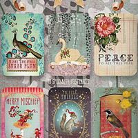 Swan Lake holiday post cards
