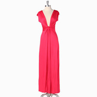 madly deeply yours maxi dress in hot coral - $46.99 : ShopRuche.com, Vintage Inspired Clothing, Affordable Clothes, Eco friendly Fashion