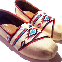 Tribal Custom painted Toms
