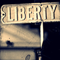 Liberty 11x14 Fine Art Photograph Patriotic Street by sintwister