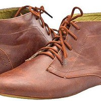 Amazon.com: Spicy F704 Cognac Women Casuals, 9: Shoes