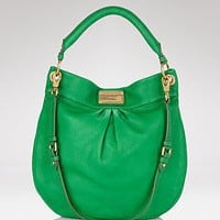 MARC BY MARC JACOBS Classic Q Hillier Hobo - Handbags - Bloomingdales.com