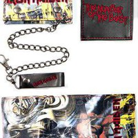 ROCKWORLDEAST - Iron Maiden, Wallet, Number Of The Beast