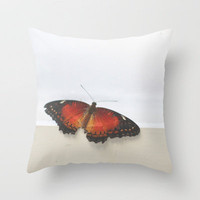 We Are Like Butterflies  Throw Pillow by secretgardenphotography [Nicola] | Society6