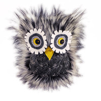 Hoot Owl Stuffed Toy Furry Plush Stuffed Animal