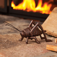 Cast Iron Hearth Cricket With Burnished Copper Finish - Plow & Hearth