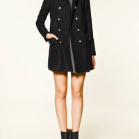 WOOLLEN CLOTH COAT - Coats - Collection - TRF - ZARA United States