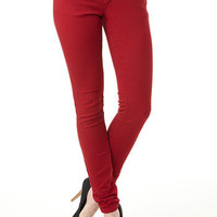 Paris Blues Colored Skinny Jean