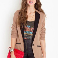 Trimmed Tux Blazer - NASTY GAL
