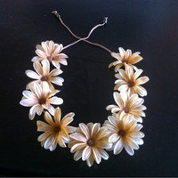 Daisy Floral Headband