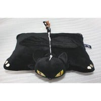 "Amazon.com: 15"" How To Train Your Dragon Toothless Night Fury Plush Cushion Pillow: Toys & Games"