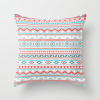 TIPI Throw Pillow by Nika  | Society6