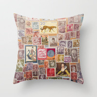 At Face Value Throw Pillow by Catherine Holcombe | Society6