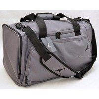 Nike Air Jordan Black and Gray Duffel Bag at OrlandoTrend.com