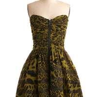 Betsey Johnson Envy the Heiress Dress | Mod Retro Vintage Printed Dresses | ModCloth.com