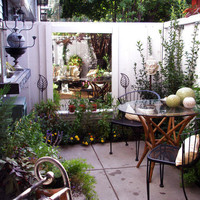 Cozy, Intimate Courtyards : Outdoors : Home &amp; Garden Television