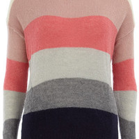 Multi block stripe jumper