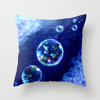 Whispers Throw Pillow by Vargamari | Society6