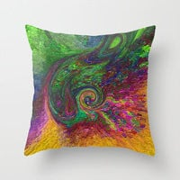 Throw Pillows by Vargamari | Society6