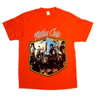 1987 Mötley Crüe Tour Shirt - Bad Boys Of Rock 'N' Roll