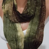 Infinity Scarf Loop Scarf Circle Scarf - Elegant -   It made with good quality chiffon fabric