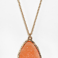 Suncoast Delicate Druzy Necklace