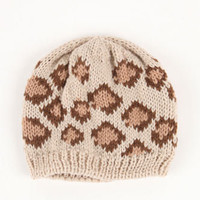 Kirra Leopard Knit Beanie at PacSun.com