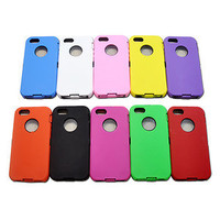 NEW HARD PLASTIC BACK CASE COVER SKIN OTTER DEFENDOR FOR APPLE IPHONE 5/10 COLOR