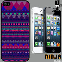 Cover for iPhone 5 Aztec Pattern Cool 90&#x27;s Ibiza Quirky Phone Case +6060