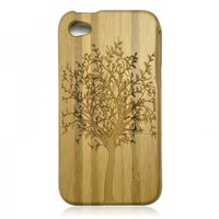 Bamboo iPhone 4 / 4S Case - Dark Tree by Julyjoy
