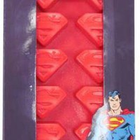 Superman Ice Cube Tray - Logo