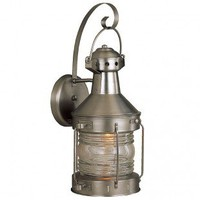 Craftmade Exterior Lighting Large Nautical Brass Outdoor Wall Mount Lantern - Z114-28 - Exterior Lighting - Lighting