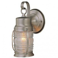 Craftmade Exterior Lighting Small Nautical Brass Outdoor Wall Mount Lantern - Z112-7 - Exterior Lighting - Lighting