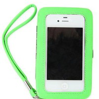 iphone friendly wallet with removable wristlet strap - debshops.com