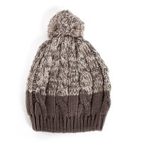 Heathered Knitted Beanie - 2020AVE