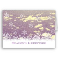Season's Greetings Card from Zazzle.com