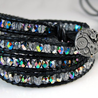 CYBER SALE - Custom Chan Luu Style Leather Wrap Bracelet - Custom Order