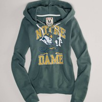 Notre Dame Vintage Hooded Popover | American Eagle Outfitters